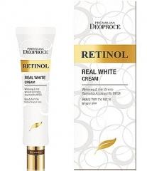 Deoproce Premium Retinol Real White Cream Крем с ретинолом для век и носогубных складок 40мл