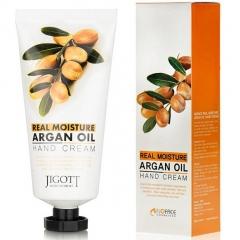 Jigott Real Moisture Argan Oil Hand Cream Увлажняющий крем для рук с аргановым маслом 100мл