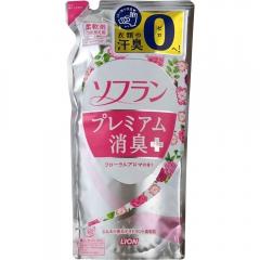 Lion Soflan Premium Кондиционер для белья с цветочным ароматом (рефил) 450мл