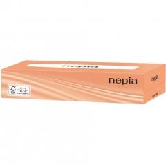 Nepia Двухслойные бумажные салфетки 200шт