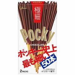 Glico Pocky Палочки в шоколаде ультратонкие 75.4г