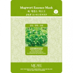Mijin Mugwort Essence Mask Маска тканевая для лица Полынь 23г