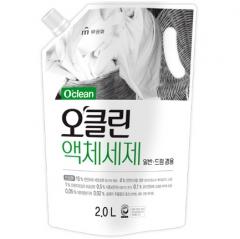 Mukunghwa O'Clean Жидкое средство для стирки на основе мыльного корня и соды (рефил) 2л