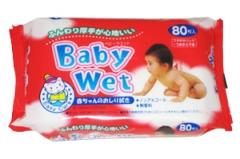 Showa Siko Easy care Влажные салфетки для нежной кожи малыша с экстрактом алоэ вера 80шт