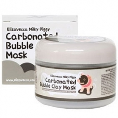 Elizavecca Carbonated Bubble Clay Mask Глиняно-пузырьковая кислородная очищающая маска для лица 100г