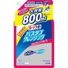 Lion Look Чистящее средство для ванной с ароматом цветочного мыла (рефил) 800мл