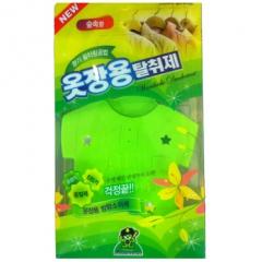 Sandokkaebi Дезодорант для одежды на крючке против запаха и моли (Лесной) 4г