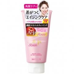 BCL Aha Renew Bright Clear Oil Gel Cleansing Очищающее масло-гель для снятия макияжа с фруктовыми ки